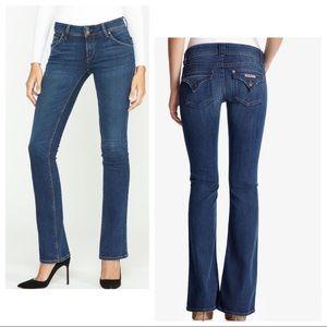 Hudson - Beth Baby Boot Denim Jeans Medium Wash 28